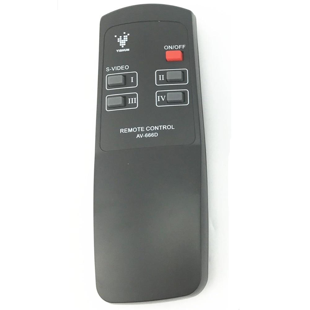 av-666 av rca video switcher seletor splitter remote control