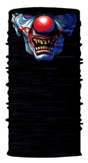 3D Череп Скелет бесшовная Бандана Балаклава головная повязка мотоциклетный головной убор Байкер волшебный платок труба Шея рыболовная вуаль маска для лица - Цвет: TA04