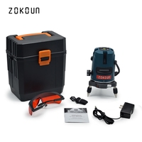 US plug Zokoun beautiful auto leveling 360 degree rotary tilt slash could work with laser receiver construction level