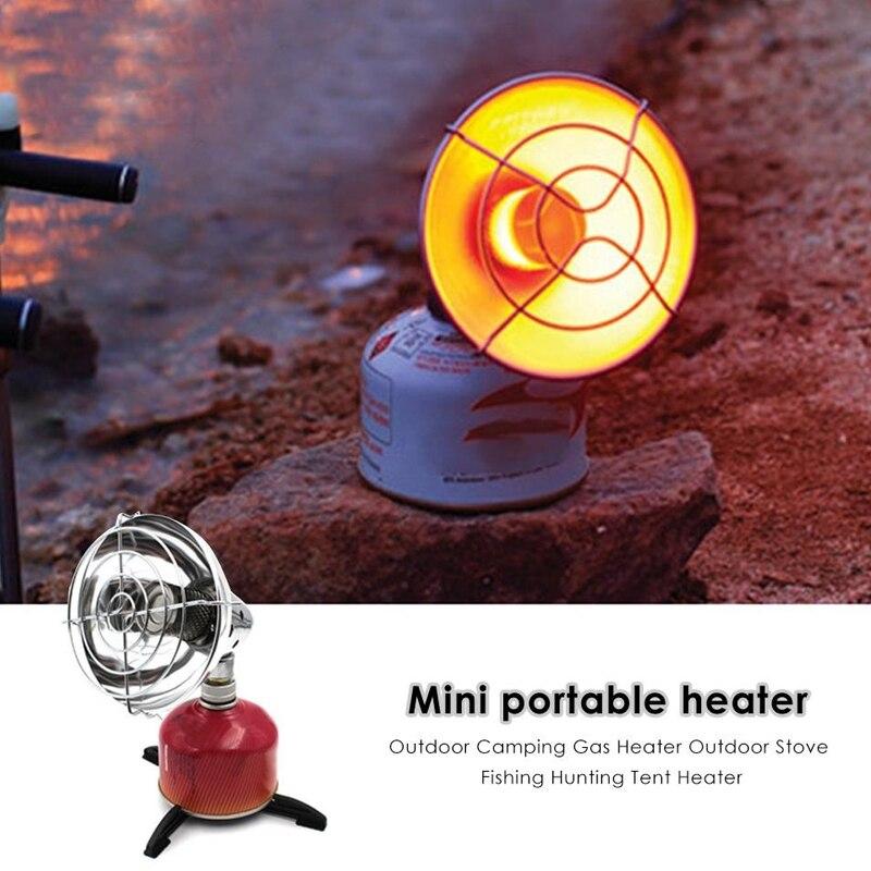 Réchauffeur de tente cuisinière à gaz Mini chauffage au gaz extérieur réglable Durable Butane 3.0-4.5KW température réglable Multi outils