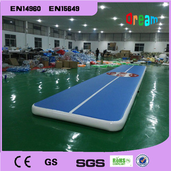 Free Shipping 10*2m Inflatable Tumble Track Trampoline Air Track Gymnastics Inflatable Air Mat Come With a Pump недорого