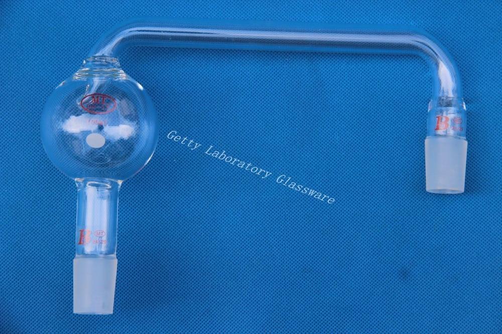 Kjeldahl Trap Adapter, Anti-splash head adapter, with 24/29 outer joints