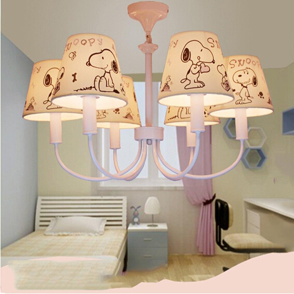 ФОТО High Quality Suspension Cartoon Led Chandelier Kids Room Led E14 110V-220V  Modern Lighting Fixture Chandelier Flower