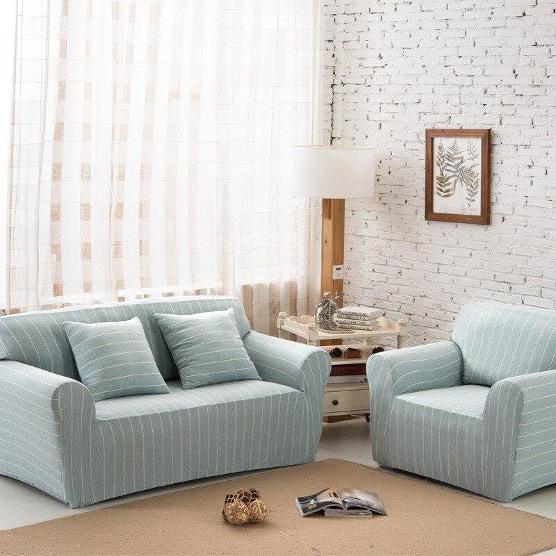 Спандекс стрейч раздели Нескользящая диван крышка большая Эластичность 100% хлопок диван мебель крышка