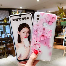 Case For on Huawei P smart 2019 Soft TPU Silicone Back Cover For on Honor 8C 8S 8X 8 9 10 20 lite Nova 3 Nova 3i Phone Case(China)