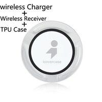 Nieuwe Veilige QI Draadloze Oplader Voor Oneplus 5 5 T 5 T Case Cover Draadloze Oplader Power Bank Gevallen Opladen Type C Lader ontvanger