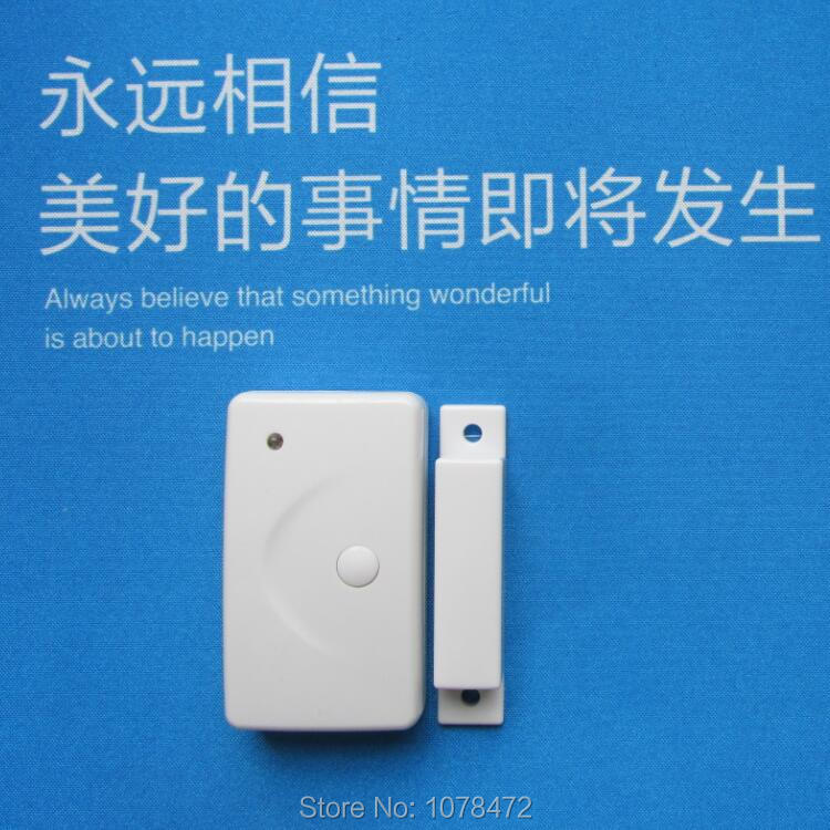 4 PCS door magnetic sensor,433/315MHZ 2262,EV1527 door/window magnet detector good door contact for home security alarm system smartyiba wireless door window sensor magnetic contact 433mhz door detector detect door open for home security alarm system