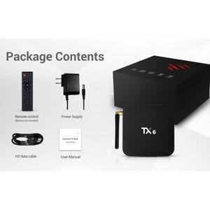 Image 5 - Wechip TX6 アンドロイド 9.0 TV ボックス 4 グラム 32 グラム/64 グラム Allwinner H6 クアッドコア 2.4 グラム + 5 グラムデュアル無線 Lan BT 4.1 4 4K テレビボックス HD H.265 Youtube セットトップボックス