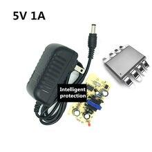Адаптер питания переменного/постоянного тока 5 В 1 А вилка стандарта