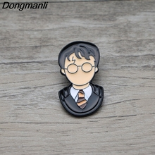 L2854 Movie Cartoon Character Metal Enamel Brooch Lapel Pin Badge Decorative Jewelry Style Brooches Unisex Gift