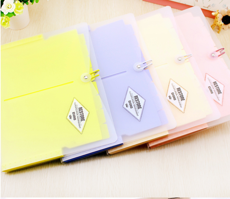 Korea Multi - layer Accordion Pouch Student Papers Document Papers Invoice Papers Receipt Papers Folder