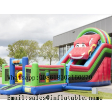 Inflatable Slide inflatable PVC bouncer in Commercial For Sale