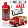 Original Box Remote Control Vehicle 1 58 Water Fire Engine Car Fire Truck Toys For Kids
