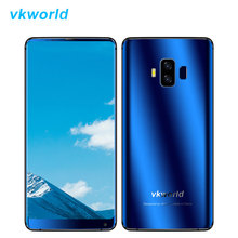 Vkworld S8 4G LTE Unlock Mobile Phone Android 7.0 MTK6750T Octa Core 4+64 2160*1080 Fingerprint Quick Charge Smartphone 5500mAh