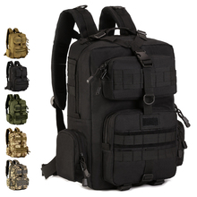 Outdoor Patrol Backpack 30L Nylon Camo Tactical MOLLE Climber 14 laptop Camping Hunting
