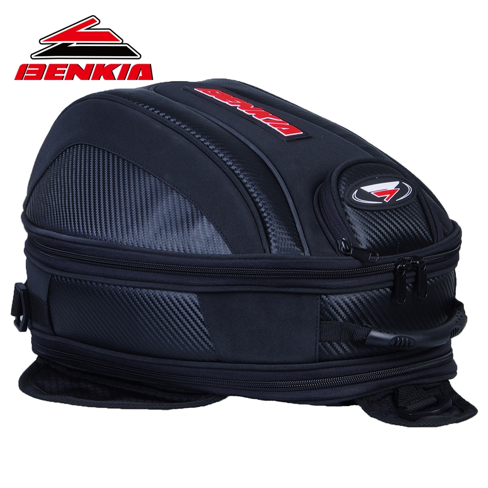 BENKIA Motorcycle Bag Mini Backpack Tank Pack & Oil Tank Bag Moto Luggage Bags Motorcycle Backpack Motorcycle Tank Bag HDF-BP13 scoyco black motorcycle bag motocicleta oil tank bag motorcycle racing backpack motorcycle tank bag motorcycle helmet backpack