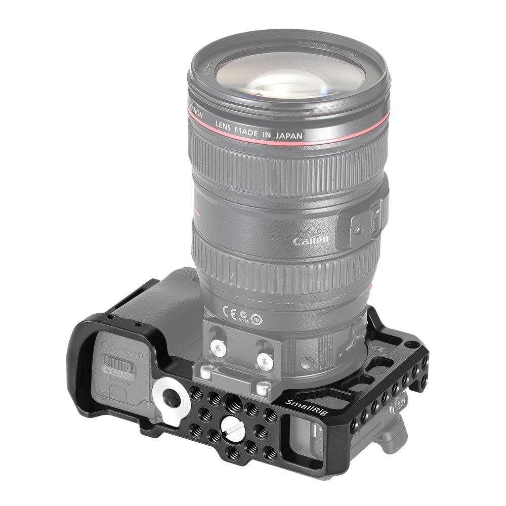 Cage de caméra SmallRig A6400 pour appareil photo Sony Alpha A6400 avec 1/4 3/8 trous de filetage pour Vlog bricolage Option 2310 - 5