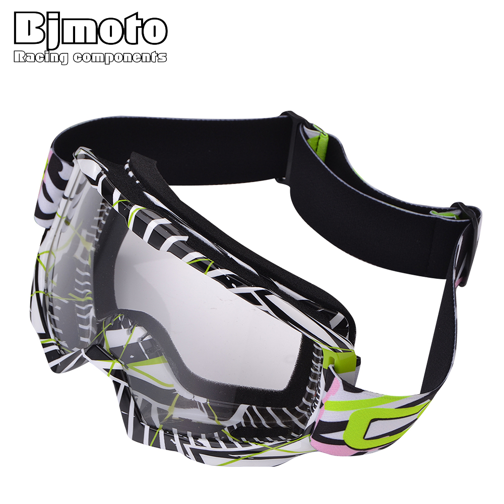 BJMOTO Motocross Goggles ATV DH MTB Dirt Bike Glasses Oculos Antiparras Gafas Motorcycle Goggle Sunglasses For Motorbikes Helmet
