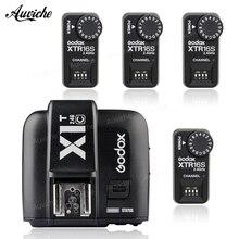 Godox X1T-C 2.4G TTL Wireless Transmitter + XTR-16S Wireless 2.4G Power Control Flash Receivers for Canon V850 V860C V860N Flash
