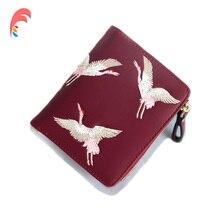 Кожаный маленький кошелек для женщин, роскошный бренд, известные мини женские кошельки, кошельки, женские короткие портмоне на молнии, кошелек, держатель для кредитных карт