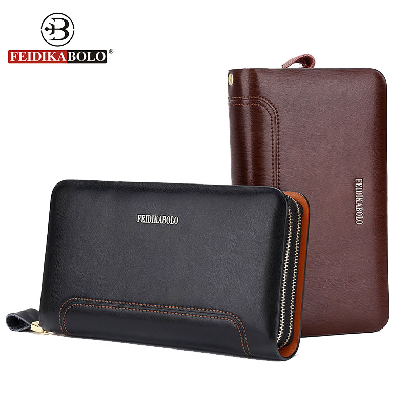 FEIDIKA BOLO Brand Wallet Men Leather Purse Male Monederos Mujer Men's Clutch Bag Mens Leather Handy Bags Carteras Men Wallets 2016 sale special offer carteira feminina carteras mujer mens wallet men driving license genuine leather wallets purse clutch
