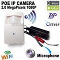 Mini hideen POE câmera ip mini câmera ip 1080 p wi-fi HD sistema de vigilância de vídeo de segurança cctv mini camme cam pir sem fio para casa