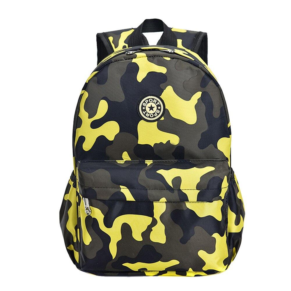 fcb95b3eb1a6 Лидер продаж, камуфляж детские рюкзаки сумки для детского сада школьников  милый Принт Оксфордский рюкзак Детская