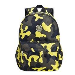 Gorąca sprzedaż kamuflaż plecaki dziecięce torby przedszkolne uczniowie śliczny nadruk Oxford plecak torba dla dzieci torby szkolne 2 rozmiary