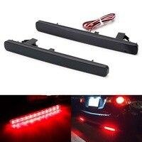 12V LED light Rear Bumper Reflector Tail Stop Brake Light Warning Night Driving Fog Lamp For Acura TSX Sedan 2009 14 for Accord