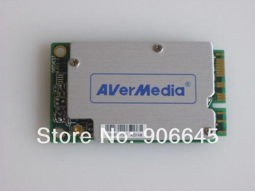 Avermedia A301 Mini PCI-E Hybird Analog Digital DVB-T HDTV TV FM Tuner Card(China)