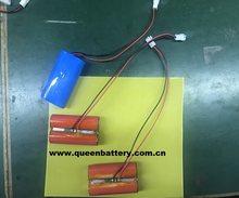 1S2P 3.6 v 3.7 v 18650 GA akumulator litowo-jonowy 6900 mAh 7000 mah z PCB (3-8A) z 22AWG