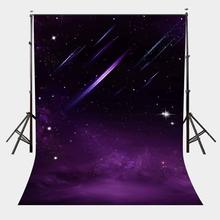 150x220cm Photography Background Night Sky View Backdrop Ultra Violet Universe Studio Props