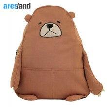 Мультфильм Стиль аниме рюкзак милый медведь Форма плечи мешок для подростков Обувь для девочек школьная сумка