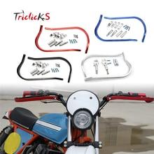 Triclicks Universal 7/8'' 22mm Handlebar Handguard Hand Guard Motorcycle Dirt Bike MX ATV Handguards Protective L&R Hand Guards 7 8 dirtbike atv handguard