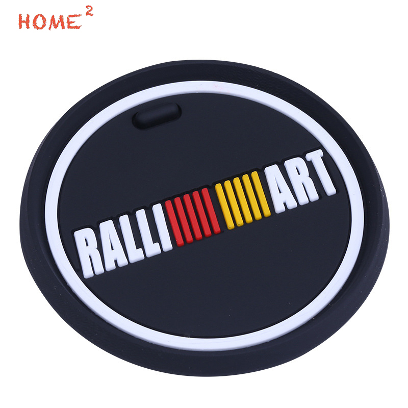 Car Styling Anti-Slip Pad PVC Glass Non-slip Mat Interior Accessories for Ralliart logo for Mitsubishi ASX Outlander Eclipse car interior rear cargo trunk mat pad 1set artificial leather for honda crv cr v 2017 2018 car accessories styling