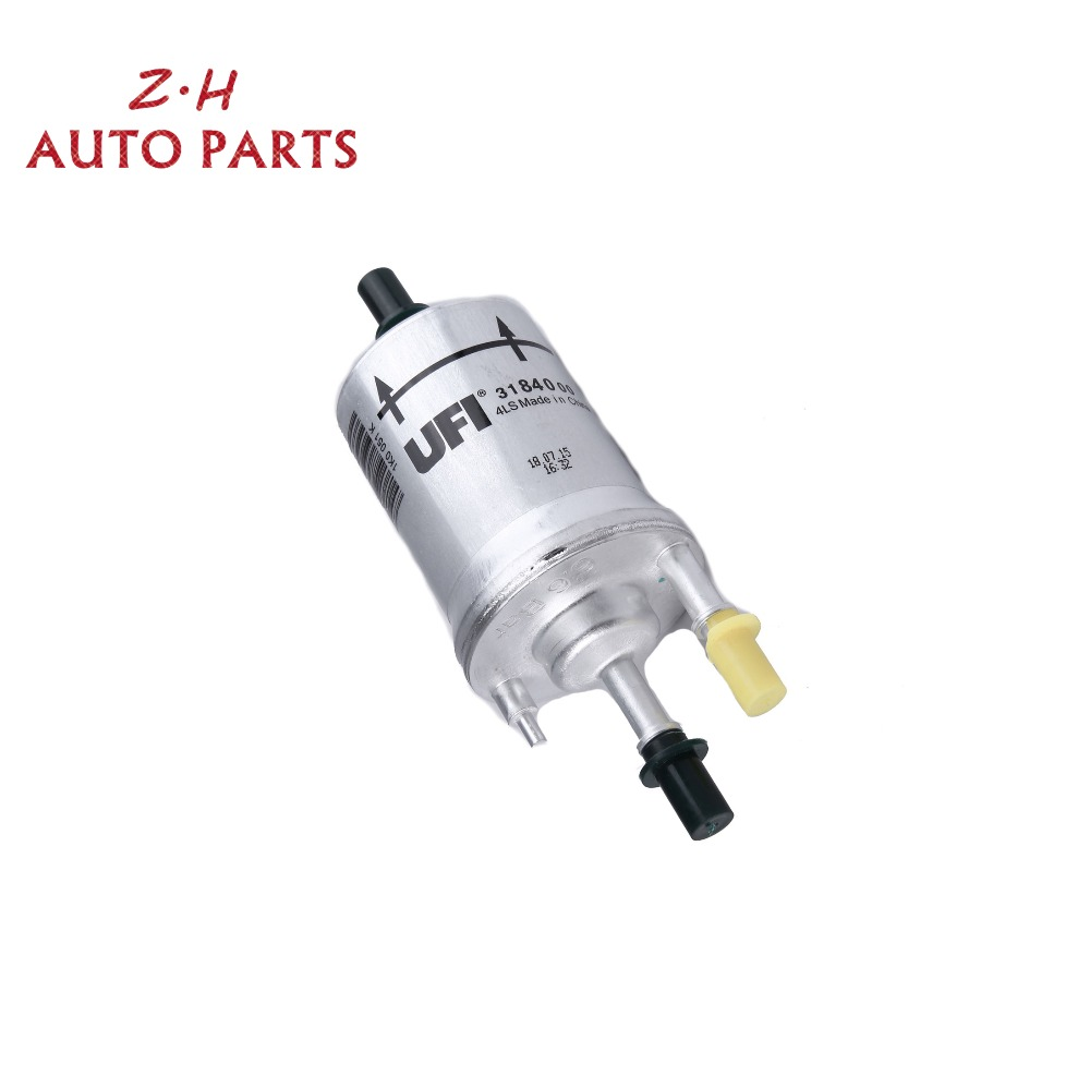 New 66 Bar Gasoline Fuel Filter Pressure Regulator 1k0 201 051 K 2000 Vw Beetle For Jetta Mk5 Golf Mk6 Passat B7 Amarok Audi A3 S3 Tt Wk69 In Filters From