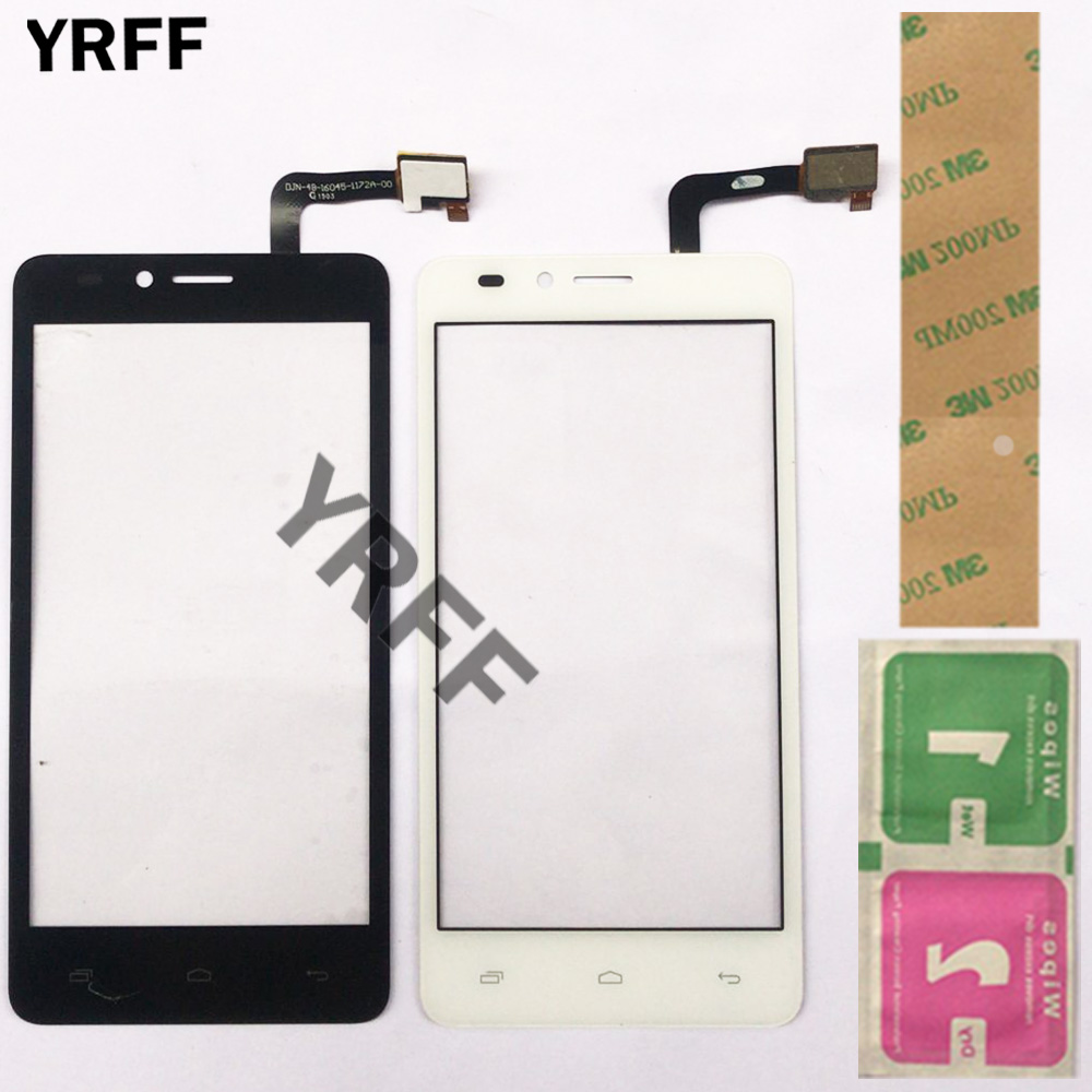 Mobile Touch Screen For MTC Smart Sprint 4G Touch Screen Glass Digitizer Panel Lens Sensor Front Glass 4.5'' Adhesive Wipes