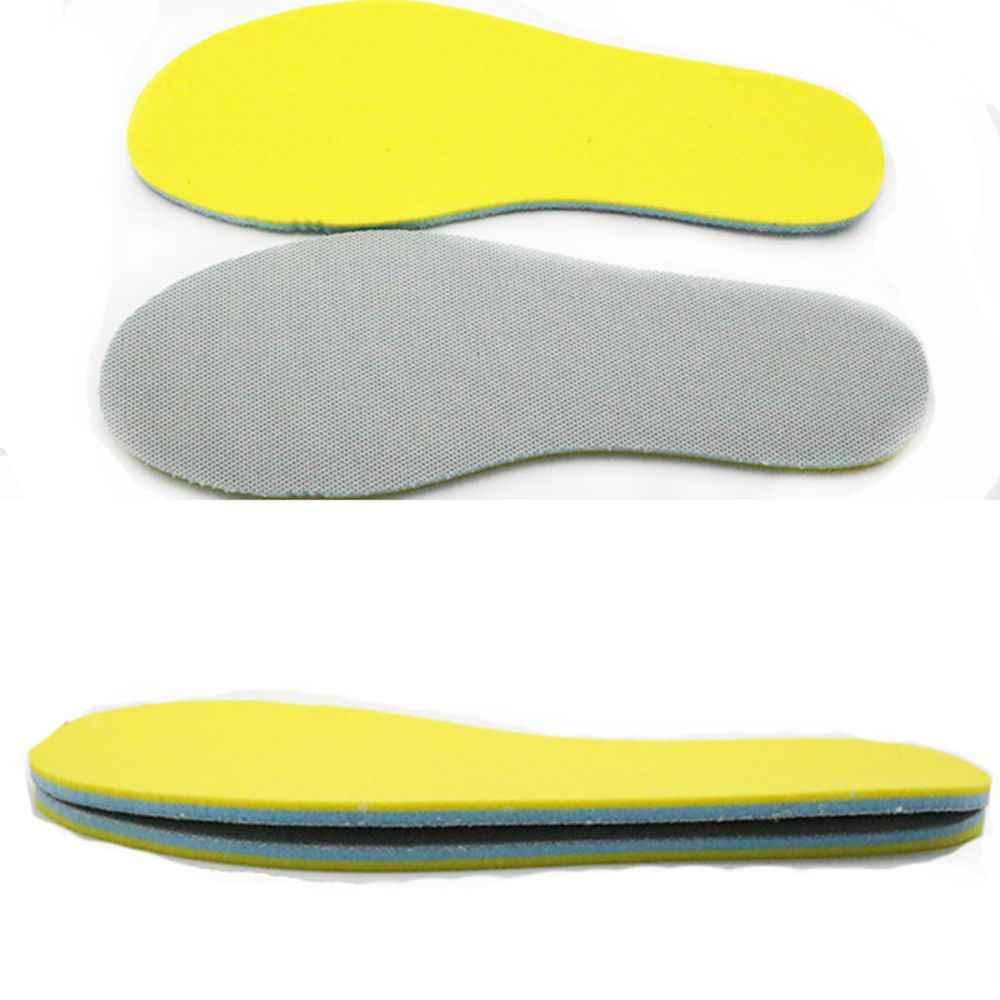 Healmeyou 1ペアメモリ靴インソール吸収性消臭足ケアソフト痛みリリーフ
