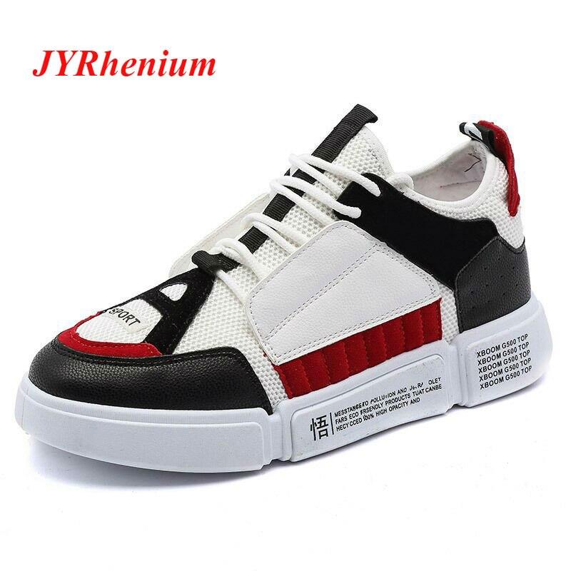 JYRhenium 2018 Novo Esporte Running Shoes masculina Sneakers Malha Respirável de Calçados esportivos Ao Ar Livre Luz Macho Sapatos Tamanho Grande 39 -45