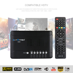 DVB-S2 X800 Satxtrem HD 1080P de Alta Definição Receptor de Satélite Digital DVB-S/S2 Apoio Receptor Ccam Dollby, AC3, WIFI, Youtube