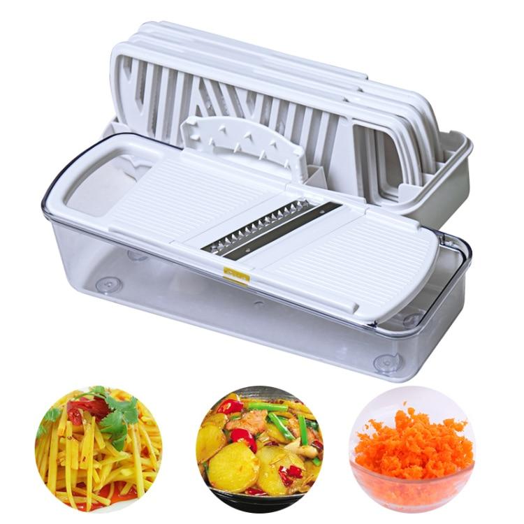 2017 Fruit Vegetable Tools Cocina Home Multifunctional Shredder Shredding Julienne Peeler Grinder Slicer Kit Kitchen Gadgets