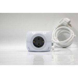 Image 4 - בית חכם כוח הארכת כבל שקע Schuko תקע 3 USB חנויות כולל פלט 2.4A מפצל מתאם עם 1.4m כבל אורך