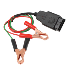 цена на Professional Universal OBD2 Automotive Battery replacement Tool Car Computer ECU MEMORY Saver Auto emergency power supply cable