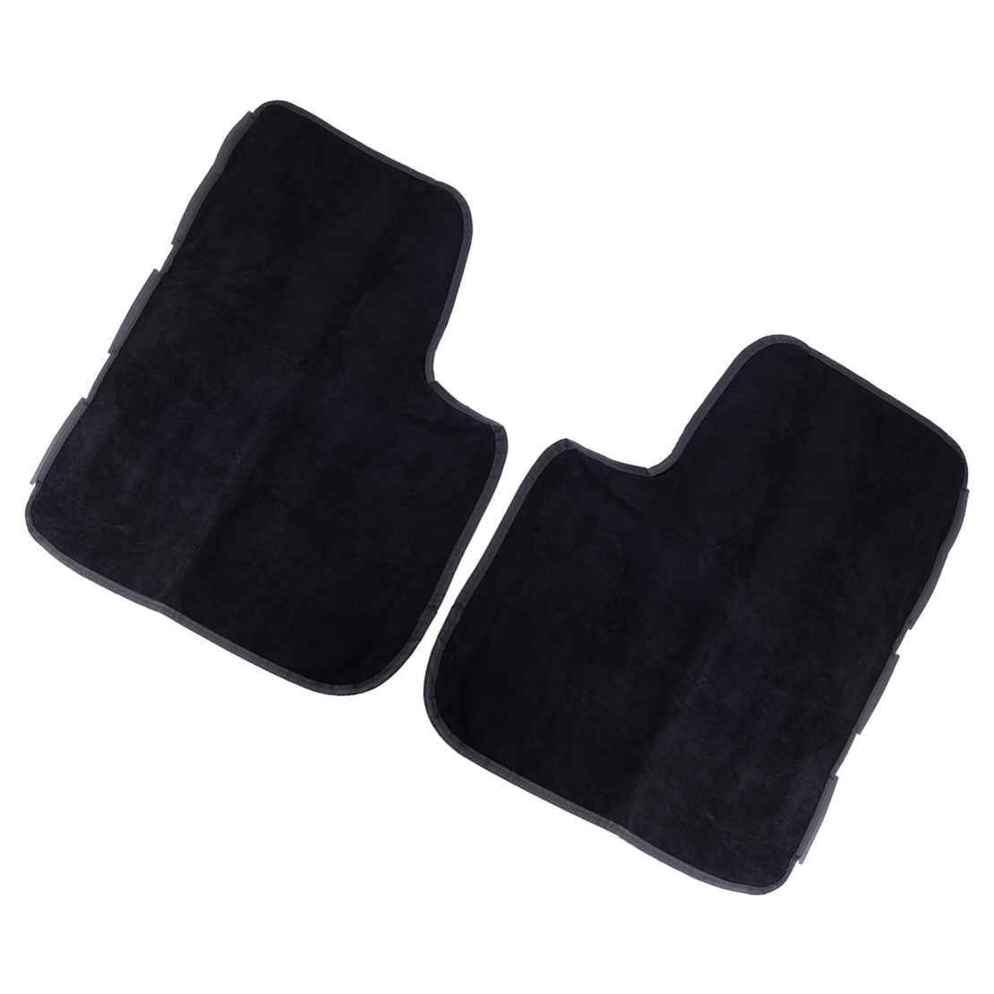 Citall 2pcs Black Car Door Side Border Seat Cover Guard