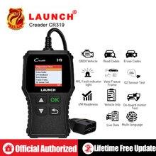 Launch X431 Creader 319 CR319 Код Reader полный OBDII EOBD двигатель диагностический инструмент OBD2 сканер как Creader 6001 CR3001 PK ELM327