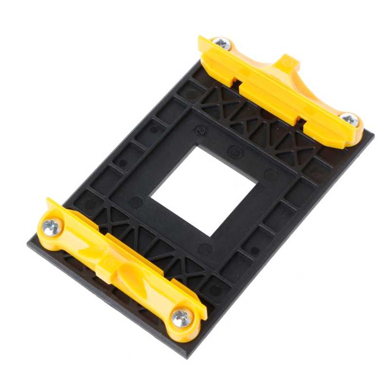 1 PC Desktop CPU Cooling Fan Bracket Cooler Heatsink Pemegang Base untuk AM4 887 Soket PC Teman