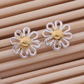 Fashion Silver Jewelry Daisy Stud Earring For Women Loving Gift AE219