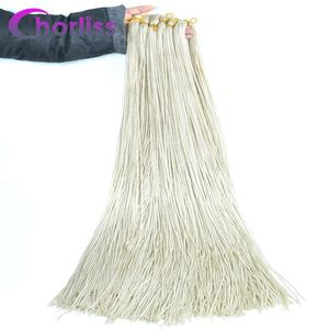 Chorliss Zizi косички для вязания крючком, косички, пряди для вязания крючком, синтетические волосы для наращивания, фиолетовые, черные, розовые, коричневые, Zizi, косички для волос