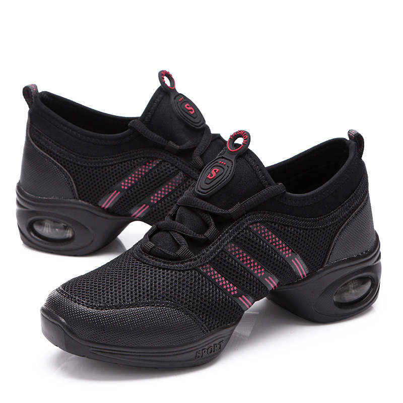 Fashion Women Athletic Sneakers Comfy Modern Jazz Hip Hop Dance Running Shoes