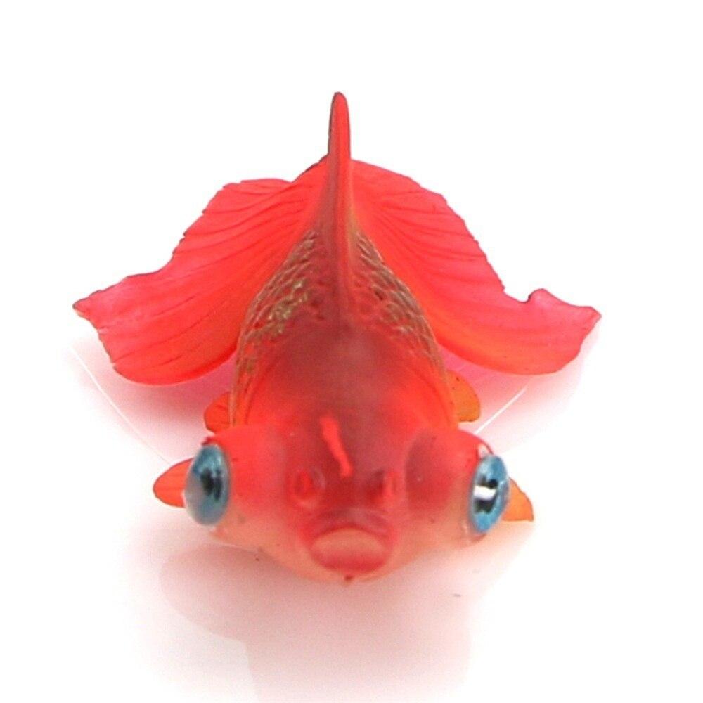 1 Pcs Neue Aquarium Dekoration Goldfisch Fisch Künstliche Schwimmdock Beweglichen Kinder Bad Spielzeug Lernen & Bildung Bad Spielzeug